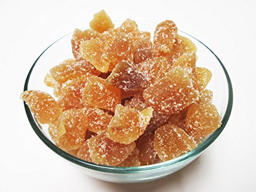 Crystallized Candied Ginger Chunks-Unsulfured, 2.5 pound. !