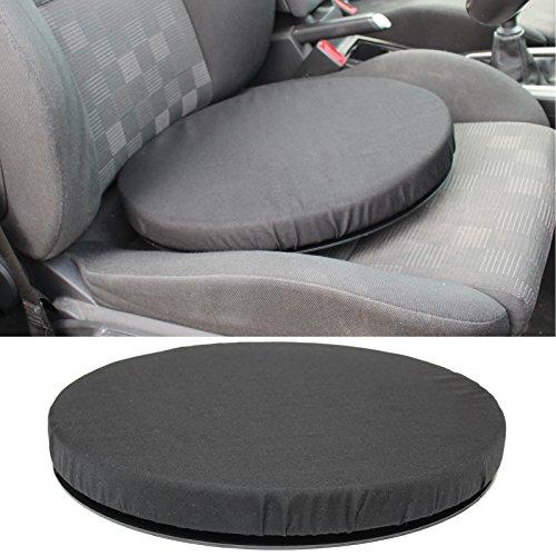 Hardcastle Rotating Car Seat Swivel Cushion Mobility Aid - Black