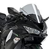 Puig 3177H RACING SCREEN [SMOKE] Kawasaki ZX-6R 636 (09-19) プーチ スクリーン カウル