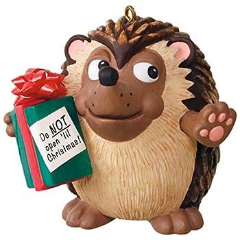 Hallmark Keepsake Ornament U Can t Touch This Hedgehog Musical