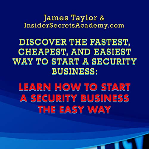 How to Start a Security Business audiobook cover art