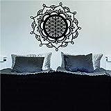 Modeganqingg Mandala Blume des Lebens Heilige Geometrie Aufkleber Aufkleber Wand Vinyl Künstler...