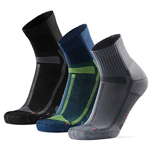 DANISH ENDURANCE Calcetines de Running para Largas Distancias, para Hombre y Mujer...