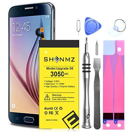 Galaxy S6 Battery Replacement Kit, 3050mAh SHENMZ Internal Li-Polymer Replacement EB-BG920ABE...