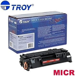TROY 02-81500-001 OEM Toner - 2035 2055 MICR Toner Secure Cartridge (2300 Yield) (Compatible with HP Laserjet P2035 P2055 Printers HP Toner OEM# CE505A) OEM