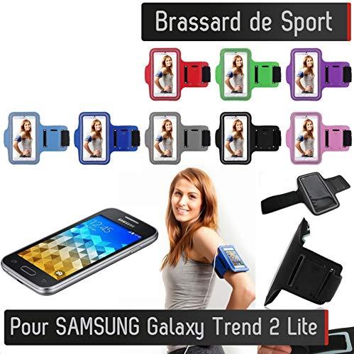Shot Case Sportarmband für Samsung Galaxy Trend 2 Lite, mit Tasche, Rosa