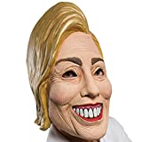 Rubie's Adult Famous Faces Political Hillary Costume Mask, As Shown, One Size US