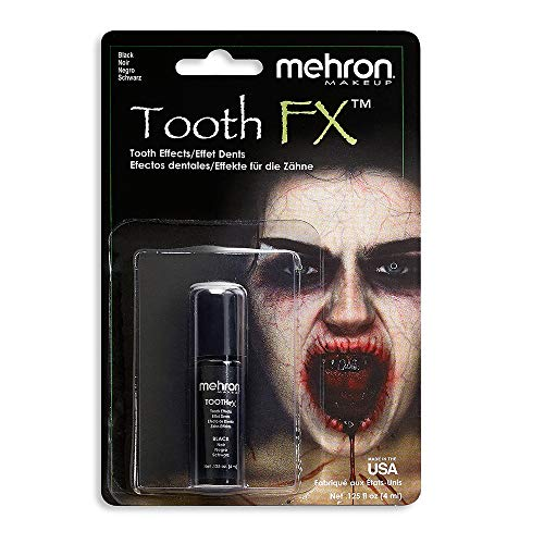 Mehron Inc. MTFX-N Black Tooth Couleur