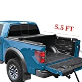 YITAMOTOR Soft Roll Up Truck Bed Tonneau Cover Compatible with Ford F-150 2015-2020, Styleside 5.5 ft Waterproof Tear-Resistant PVC Pickup
