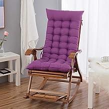 YLLN Recliner Cushion Garden Chair Cushion Seat Cushion Back Cushion High Back Cushion with Ties Chair Pads for Garden Cha...