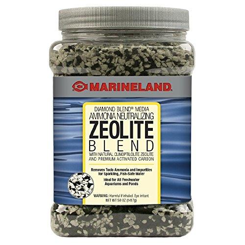Marineland Diamond Blend 50 Ounces, Ammonia-Neutralizing Zeolite And Carbon, aquarium Filter Media