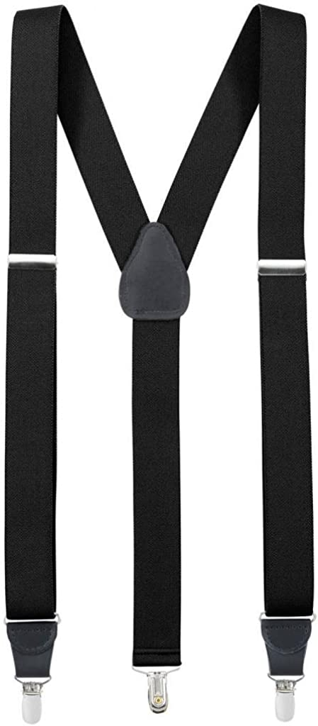 Hold'Em Suspender for Men Very popular! Made Direct stock discount Crosspatch in USA Leather Y-Back