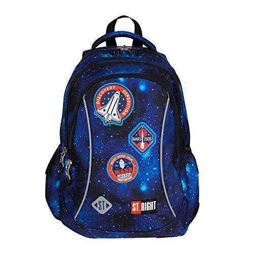 ST.RIGHT Multicoloured Light Backpack School Backpack School Bag 19 L