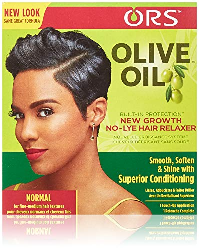 ORS Olive Oil Built-In Protection Normal New Growth No-Lye Hair Relax