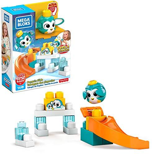 Mega Bloks Bloques de construcción Pinguino Escondite (Mattel GKX67)