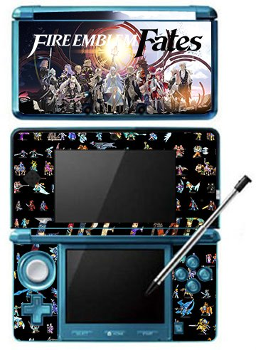 Fire Emblem Fates Game Skin for Nintendo 3DS Console by Skinhub