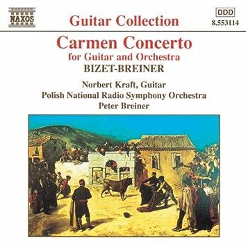 BIZET- BREINER: Carmen Concerto / GRANADOS: Valses Poeticos