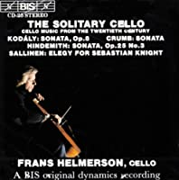 Solitary Cello by Frans Helmerson (1994-05-03)