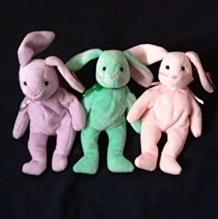 Ty Hippity, Hoppity and Floppity Easter Bunnies MINT w/TAGS!