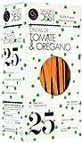 Sandro Desii Pasta Cintas (Tagliatelle) de Tomate y Orégano 250 g 1140 ml - Lot de 2