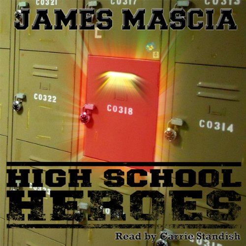 High School Heroes audiobook cover art