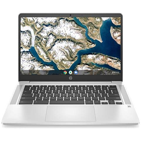HP CHROMEBOOK 14A-NA0021NL 14' 1920X1080 PIXEL INTEL CELERON 4GB LPDDR4-SDRAM 64GB EMMC WI-FI 5 CHROME OS SILVER 23D56EA#ABZ