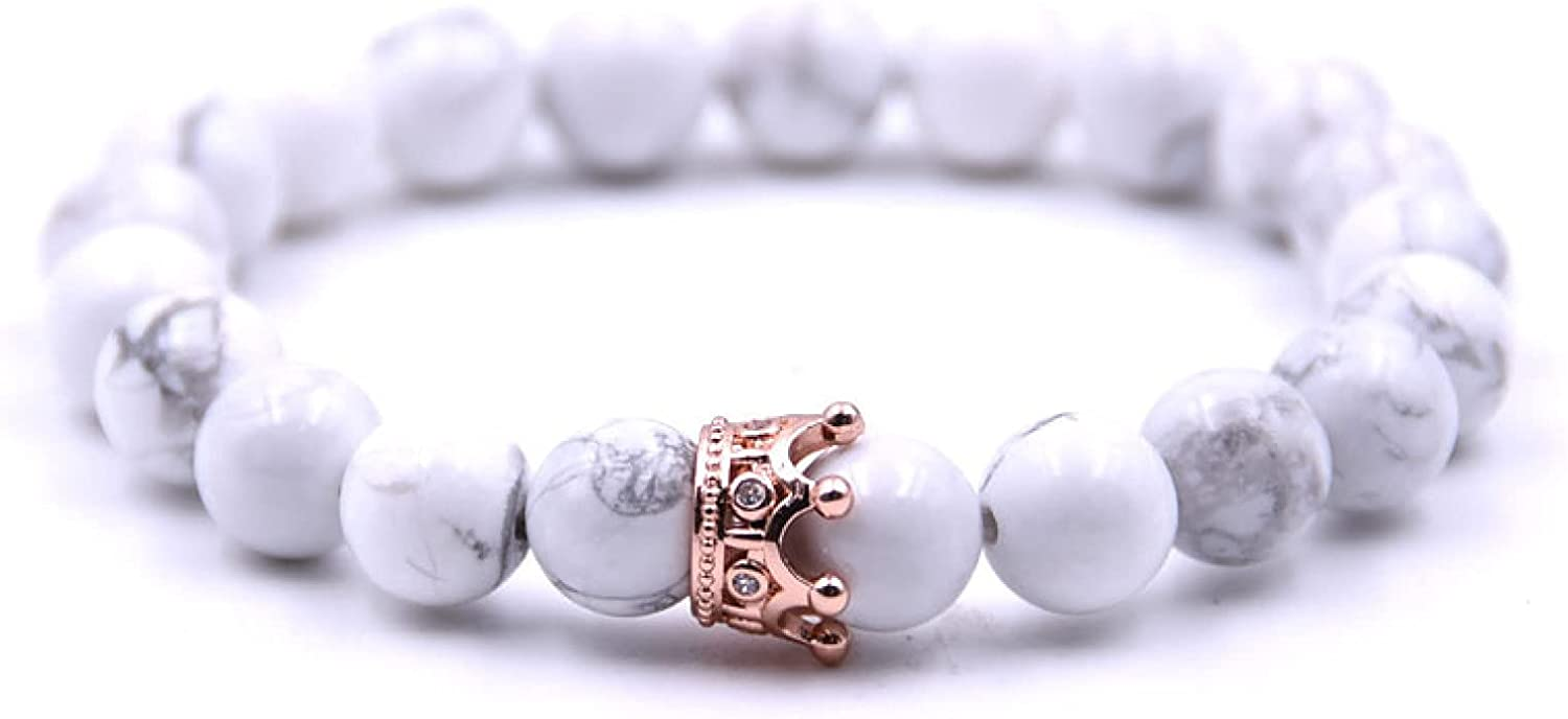 GTHT Men Bracelets Bracelet outlet Charms Sales of SALE items from new works Jewelry Stone Crown Beads