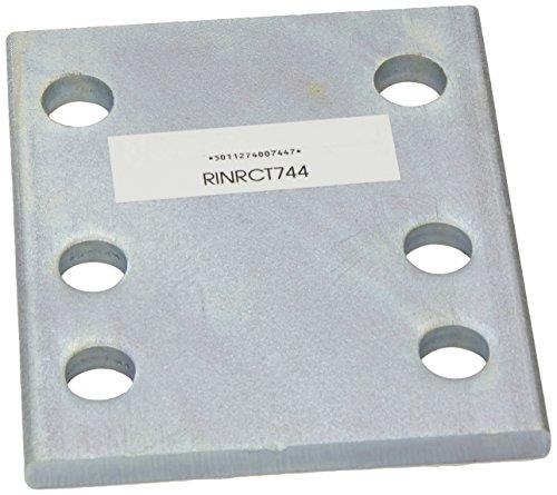 Ring Automotive RCT744 Plaque de Fixation pour réglage en Hauteur de rotules d'attelage 10 cm