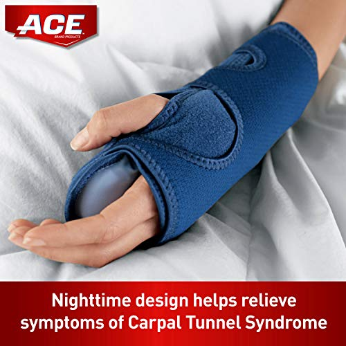 ACE Night Wrist Sleep Support, One Size Fits Most