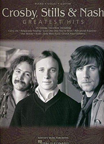 Crosby Stills & Nash Greatest Hits P/V/G