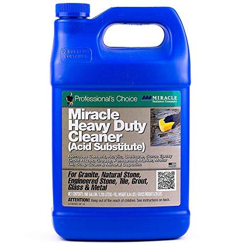 Miracle Sealant - Miracle Heavy Duty Cleaner - Acid Substitute