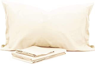 GUOCU Completo Lenzuola e Federa Letto Singolo Matrimoniale in Morbida Microfibra Viola Tinta Unita Pair Pillowcases 51 * 76cm