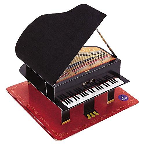 SANRIO(サンリオ)『誕生日カード ライト&メロディ ピアノ(P477)』