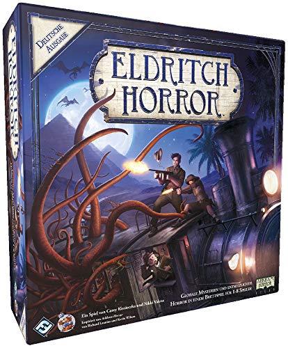 Eldritch Horror - Grundspiel - Brettspiel | DEUTSCH | Lovecraft Horror