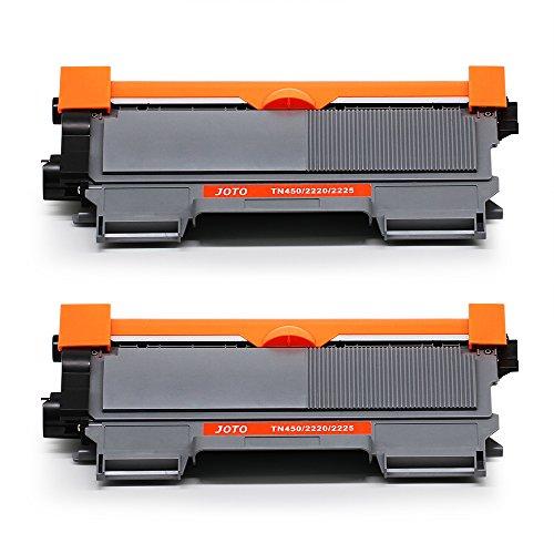 JOTO TN2220 TN2010 Toner Kompatibel für Brother DCP 7055 7055W 7057 7060D 7065DN 7070DW MFC 7360N 7460DN 7460N 7860DW HL 2130 2132 2135W 2240 2240D 2250DN 2270DW FAX 2840 2845 2940E Laser Drucker