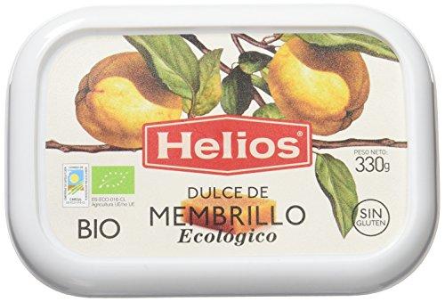 Helios Dulce de Membrillo Ecológico - 330 gr - , Pack de 6