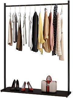 sans marque JIE- Porte-vêtement Porte-Manteau en Métal pour Vêtements avec Étagère De Rangement Inférieure Peut Stocker de...