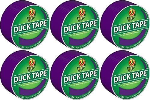 Duck Brand 283138_C Duck Duct Tape, Purple Color