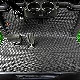 Xtreme Mats EZGO RXV Full Coverage Golf Cart Floor Liner Mat W/Color Options- Fits EZGO RXV (2008+) & 2Five (2009+) - All Black
