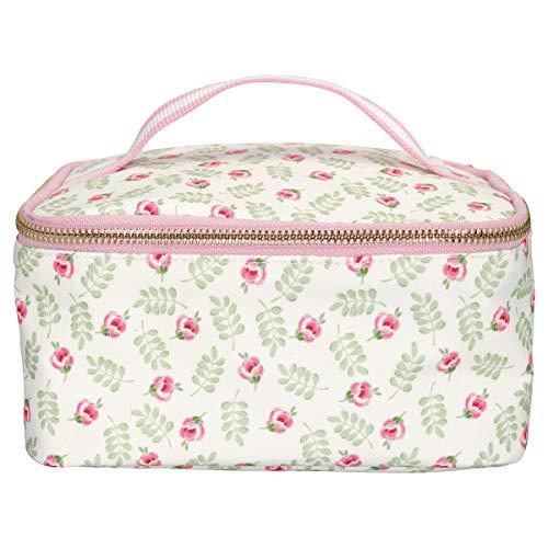GreenGate - Kühltasche - Lunchtasche - Lily Petit - Wachstuch - Blumen - 20x15x10cm