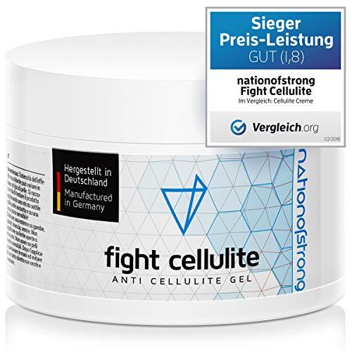 Fight Cellulite - straffendes Gel mit Koffein - stark wärmend - aktiviert die Haut zur optimalen Aufnahme der Wirkstoffe - in Deutschland hergestellt - 225ml