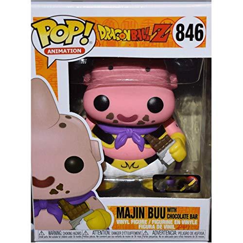 Jokoy Funko Pop Animation : Dragon Ball Z - Makin Buu with Chocolate 3.75inch Vinyl Gift for Anime Fans Chibi