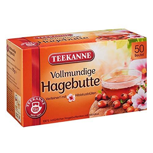 Teekanne Hagebutte, 50 Beutel 6er Pack