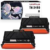 UniPlus Cartucho de Tóner Compatible para Brother TN3480 TN-3480 8000 Páginas para Brother HL-L5000DN HL-L5100DN HL-L5100DNT HL-L5100DNTT HL-L5200DW L5500DN L5700DN L5750DW (2 Negro)