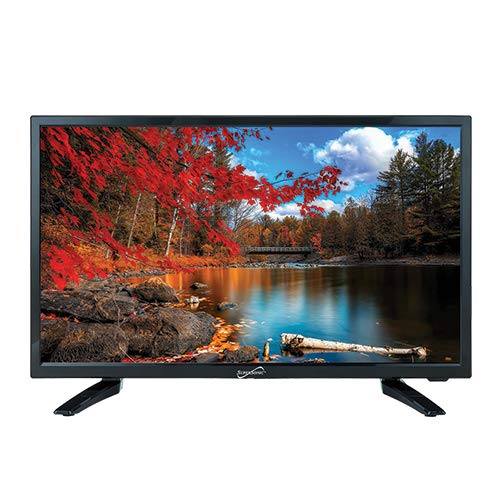 SuperSonic SC-1912H LED Widescreen HDTV 19', Built-in DVD Player with HDMI, USB, SD & AC/DC Input: DVD/CD/CDR High Resolution and Digital Noise Reduction | HDMI Cable Included