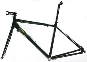 EVO Vantage 5.0 55cm Large Aluminum Road Bike Frameset Fork + Extras Black NEW