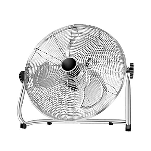 XYSQ Fans Oscilating, Ventilador De Piso De Huracanes - 20 Pulgadas, Alta Velocidad, Ventilador De Piso De Metal Pesado para Uso Industrial, Comercial, Residencial Y Invernadero, Ventilador De Garaje