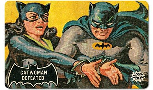 DC Comics-Breakfast lade hakbord Retro Vintage Batman Catwoman verslagen