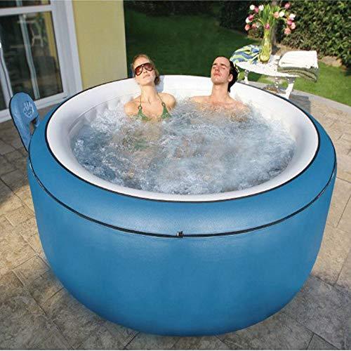JKC Aufblasbarer Outdoor Whirlpool auf Lager 2-6 Personen Kapazität - Schnelle Heizung (nur Whirlpool - 4 Personen)