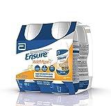 Ensure Nutrivigor - Complemento Alimenticio para Adultos, con HMB, Proteínas, Vitaminas y Minerales, como el Calcio - Sabor Vainilla - Pack de 4 Botellas x 220 ml